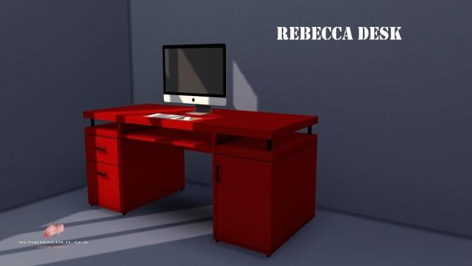 Sims 4 Rebecca Desk at Sunkissedlilacs