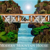 Modern Mountain House by Mini Simmer