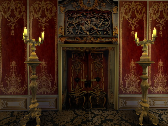 Sims 4 Open Dreams Gate Doors Set Up Angels at Anna Quinn Stories