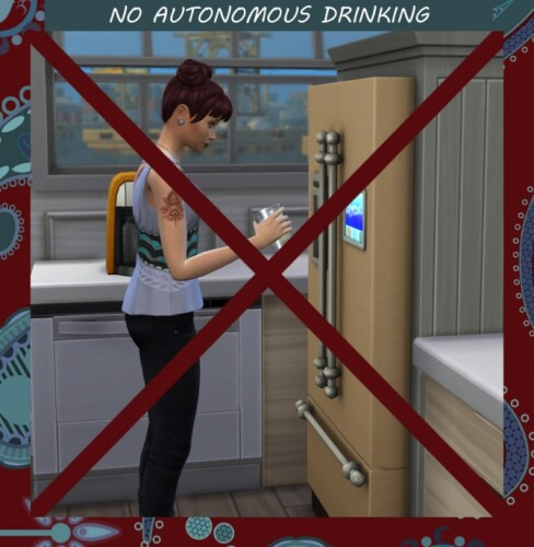 No Autonomous Drinking by Simmiller