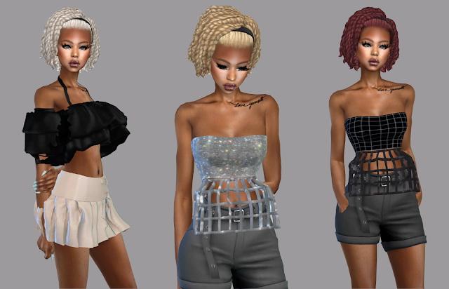 Sims 4 Isabella Hair Recolor at Teenageeaglerunner
