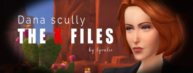 Dana Scully The X Files by Lyralei