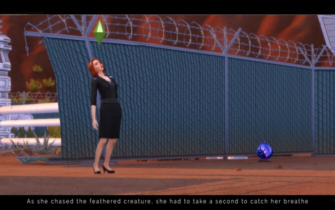 Sims 4 Dana Scully (Gillian Anderson) The X Files by Lyralei at Mod The Sims