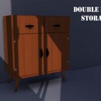 Double Door Storage