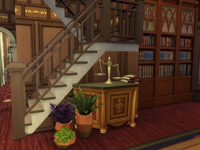Sims 4 Rosamund Estate by Ineliz at TSR