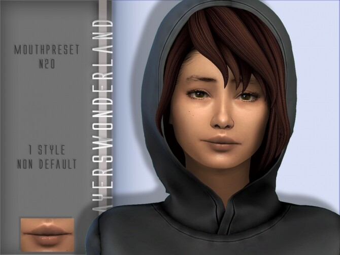 Mouthpreset N20 by PlayersWonderland at TSR image 2117 670x503 Sims 4 Updates
