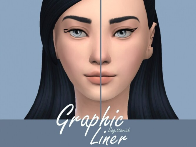 Graphic Liner by Sagittariah