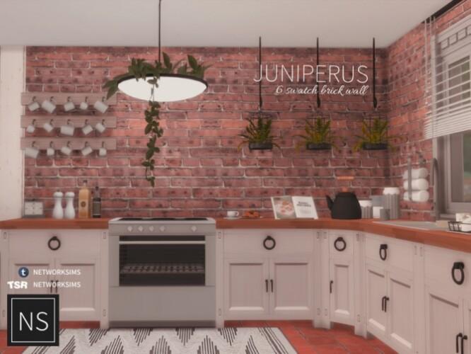 Juniperus Brick Walls by networksims
