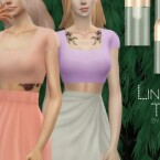 Linda Top by Dissia
