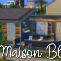 La Maison Bleue Eco home