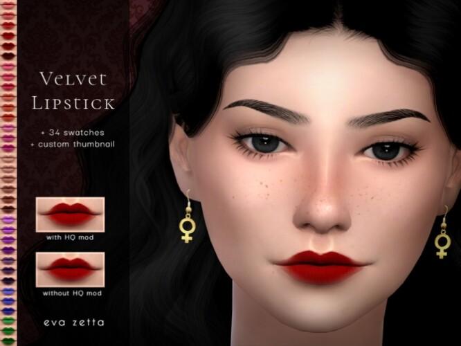 Velvet Lipstick by Eva Zetta