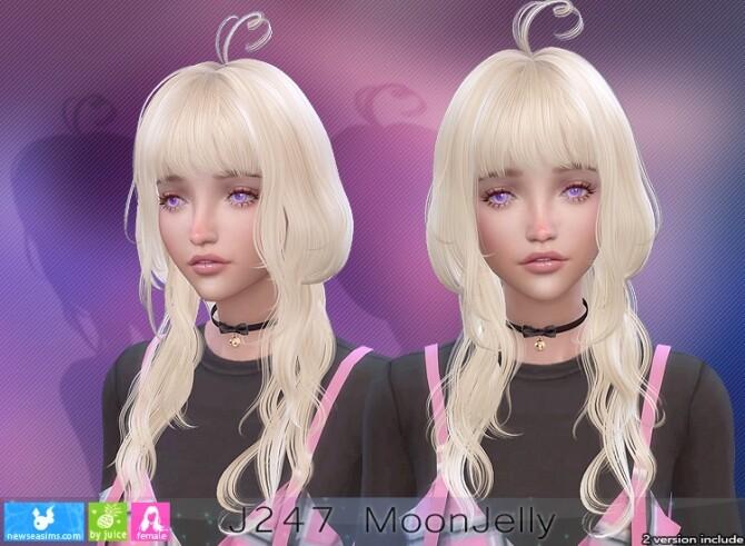 J247 Moonjelly hair (P) at Newsea Sims 4 image 2157 670x491 Sims 4 Updates