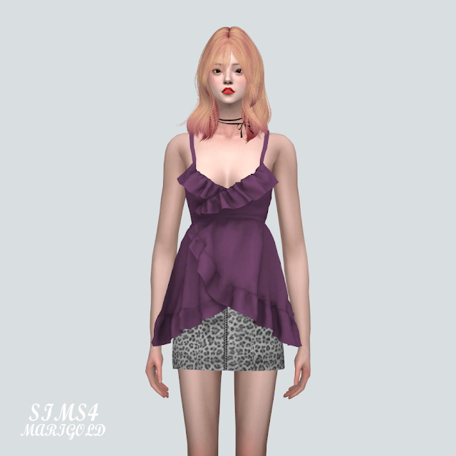 Sims 4 Tulip Bustier at Marigold