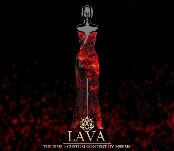 LAVA GOWN