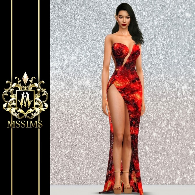 LAVA GOWN at MSSIMS image 2182 670x671 Sims 4 Updates