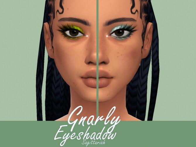 Sims 4 Gnarly Eyeshadow by Sagittariah at TSR