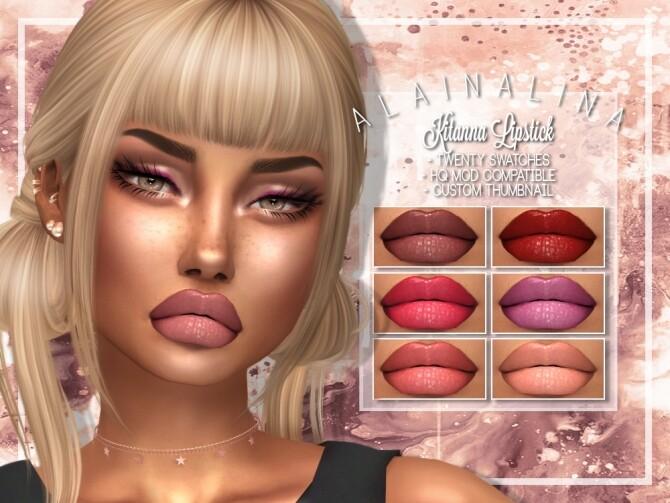 Sims 4 Kitanna Lipstick at AlainaLina