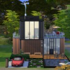Modern Style Container House N03 by Fivextreme