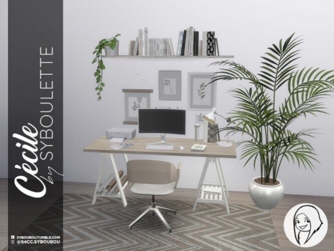 Cecile Office Set by Syboubou