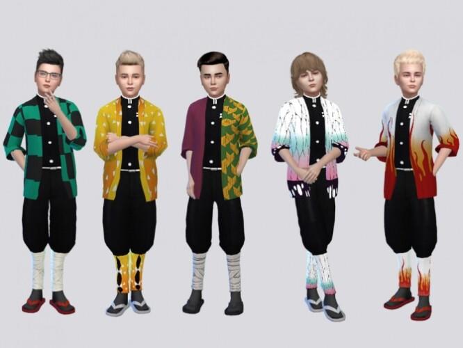 Yaiba Costume SET Kids by McLayneSims