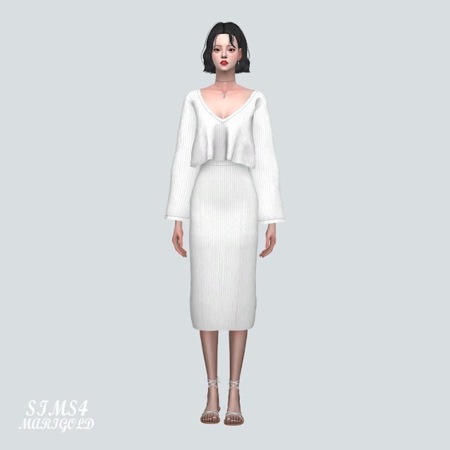 Knit 2 Piece at Marigold image 2257 Sims 4 Updates