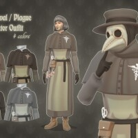 Medieval Plague Doctor Outfit by kennetha_v