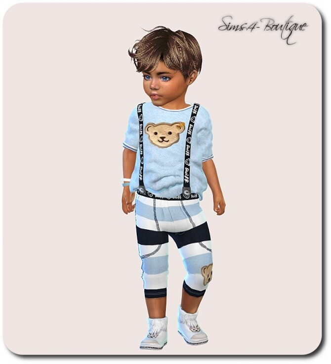 Designer Set for Toddler Boys 1308 at Sims4 Boutique image 2303 670x737 Sims 4 Updates