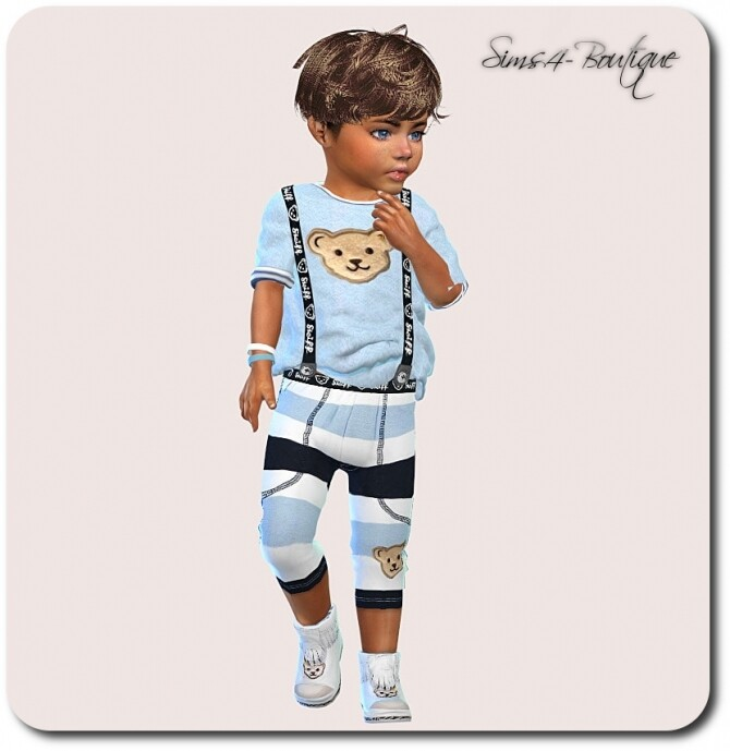 Designer Set for Toddler Boys 1308 at Sims4 Boutique image 23110 670x689 Sims 4 Updates