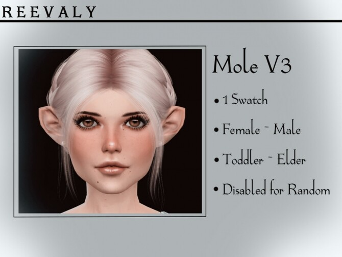 Mole V3 by Reevaly at TSR image 2318 670x503 Sims 4 Updates