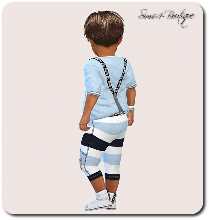 Designer Set for Toddler Boys 1308 at Sims4 Boutique image 2323 670x704 Sims 4 Updates