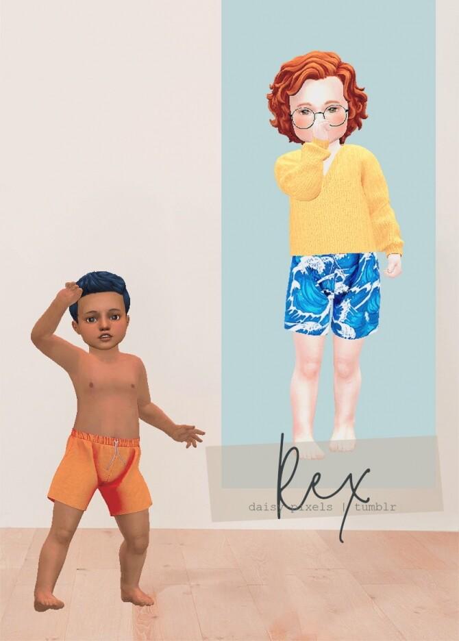 Rex Shorts at Daisy Pixels image 2332 670x936 Sims 4 Updates