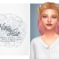 Nina Hair cute pigtails