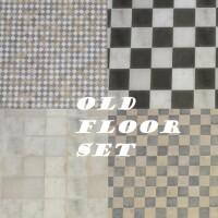 Old Floor Tile Set by Nutter-Butter-1