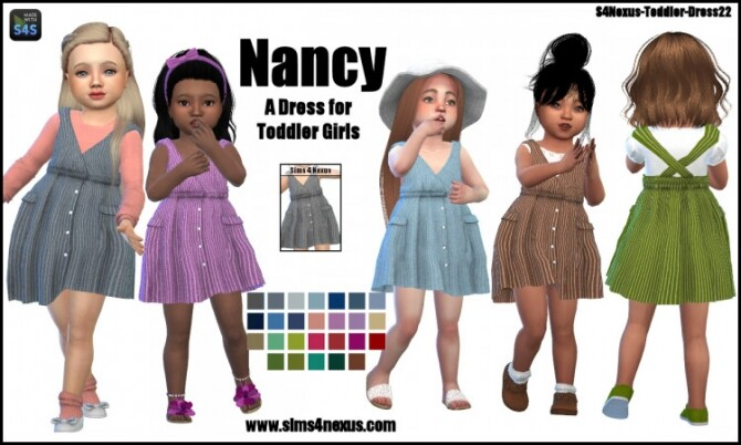 Nancy dress for toddler girls by SamanthaGump