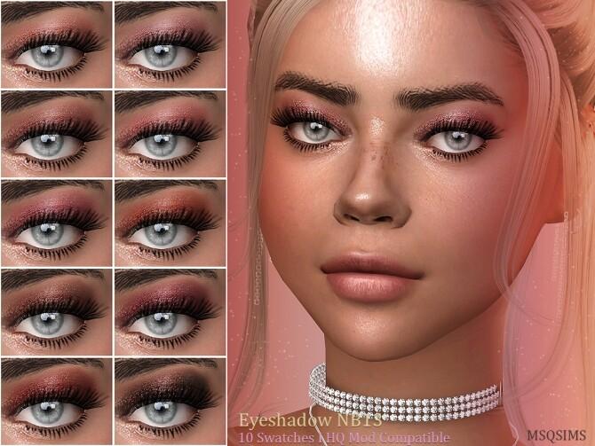 Sims 4 Eyeshadow NB13 at MSQ Sims