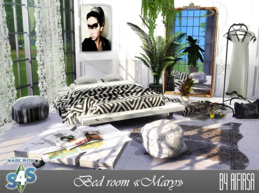 Mary bedroom