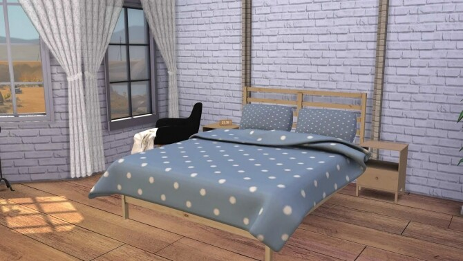 Tarva Bed with Blanket & Pillow at Sunkissedlilacs image 2375 670x377 Sims 4 Updates