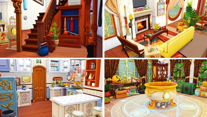 Sims 4 Glimmer Castle at Savara's Pixels