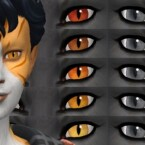 Feline Heterochromia by EachUisge