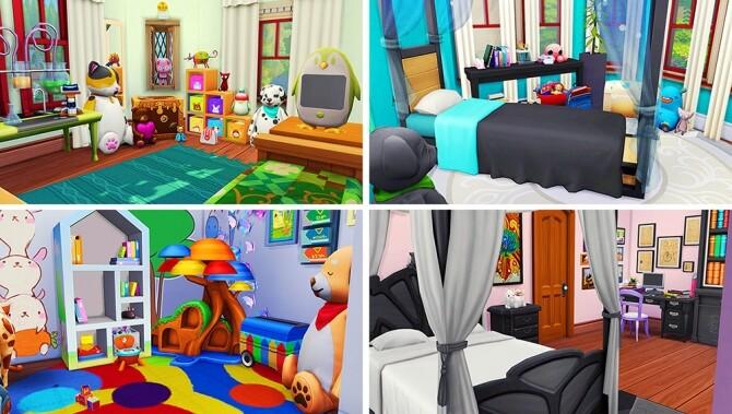 Glimmer Castle at Savara's Pixels image 2386 670x379 Sims 4 Updates