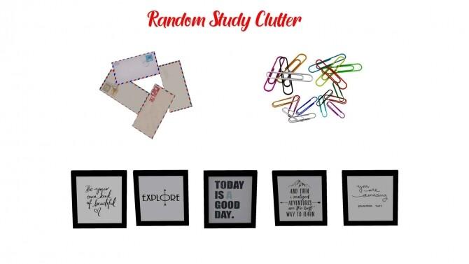 Random Study Clutter