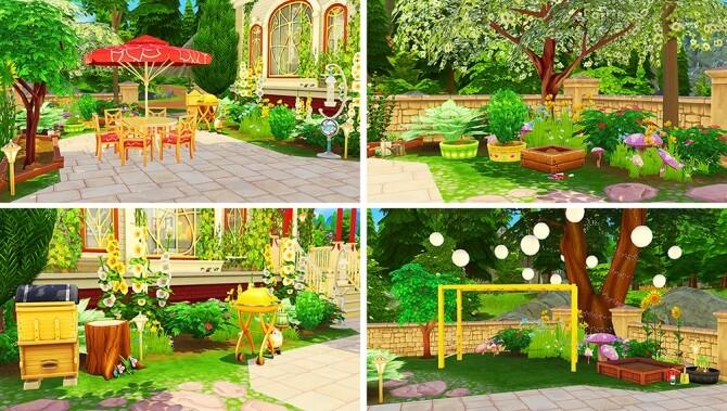 Glimmer Castle at Savara's Pixels image 2396 670x379 Sims 4 Updates