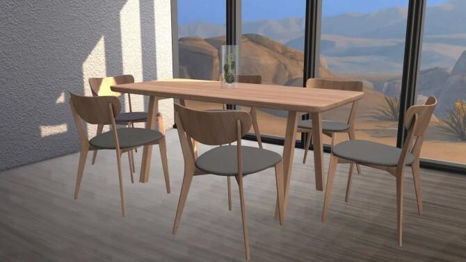 Stelvio Dining Table Scandi Chair