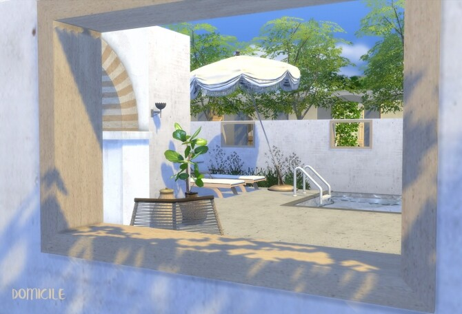 No. 4 moroccan european style house by CHRIS at DOMICILE HOME TS4 image 242 670x456 Sims 4 Updates