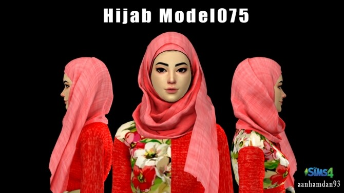 Hijab Model 075 Olive Long dress