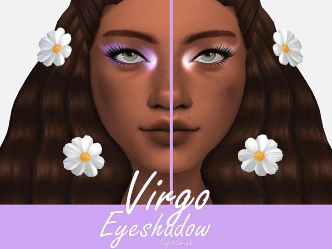 Sims 4 Virgo Eyeshadow by Sagittariah at TSR
