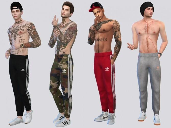 Sims 4 Sport Jogger Pants by McLayneSims at TSR