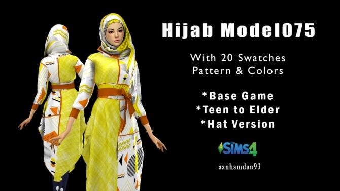 Hijab Model 075 & Olive Long dress at Aan Hamdan Simmer93 image 24311 670x377 Sims 4 Updates