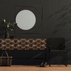 Illusion Sideboard Barcelona Mirror Crea Sella Dining Chair