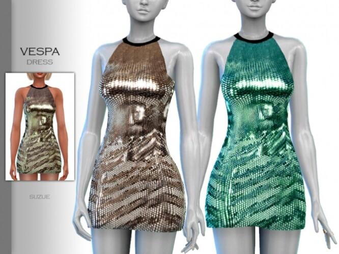 Vespa Dress by Suzue